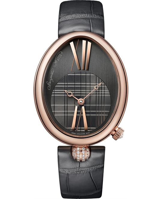 đồng hồ nữ oval Breguet Reine de Naples 8968br/x1/986/0d00 34.95 X 43mm