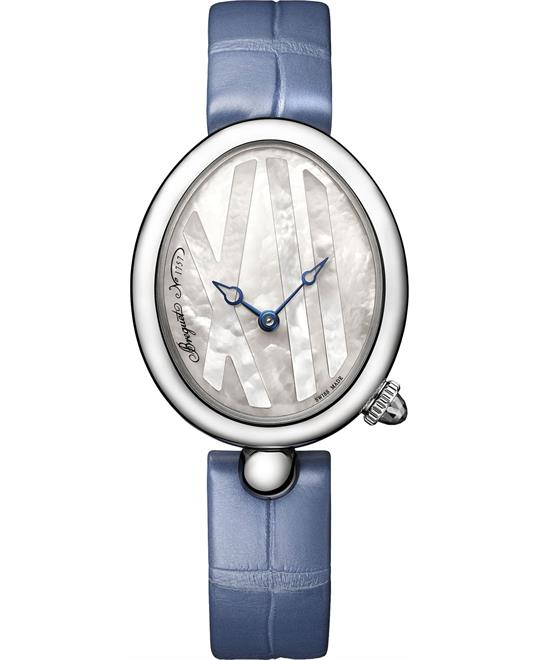 Breguet Reine de Naples Ladies Watch 32.7mm X 27.3mm
