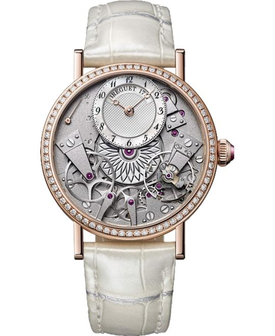 Breguet Tradition Dame 7038br/18/9v6.d00d Watch 37mm