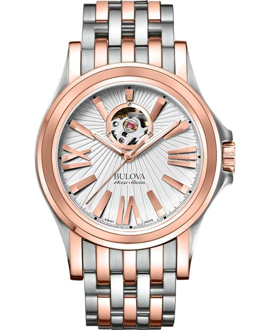 Bulova Accu Swiss Kirkwood Automatic Watch 40 mm