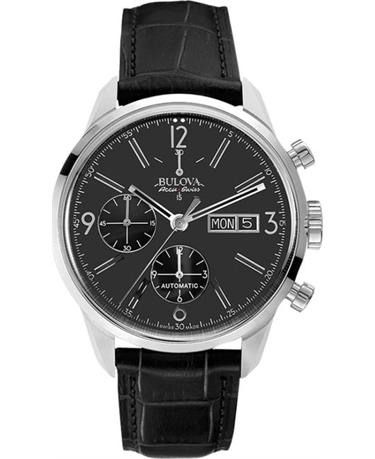 Bulova AccuSwiss Murren Automatic Watch 41mm