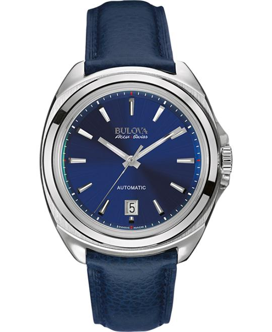 Bulova AccuSwiss Telc Automatic Watch 42mm