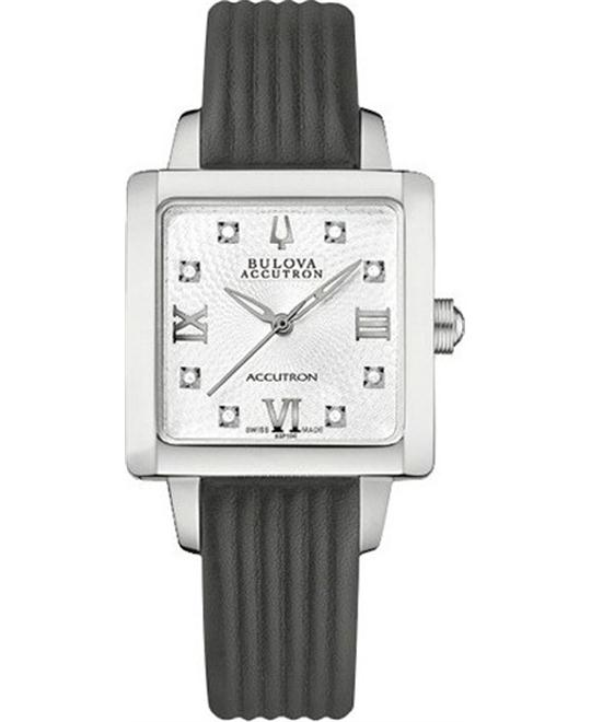 Bulova ACCUTRON Masella Diamond Watch 27mm