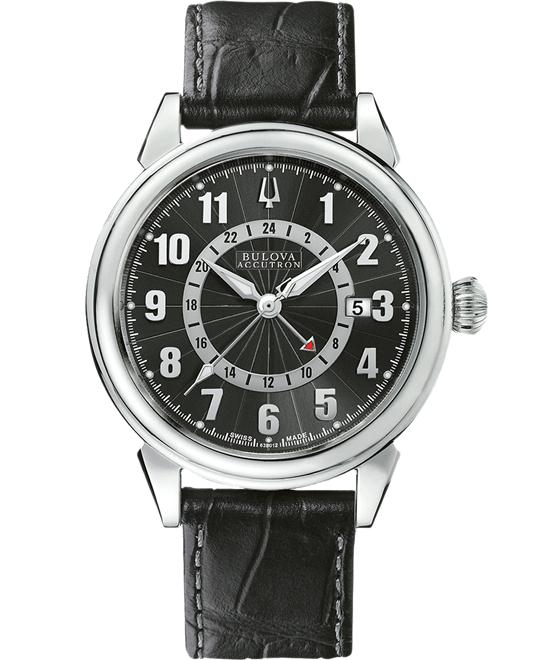 Bulova Accutron Men's Automatic Leather 42mm
