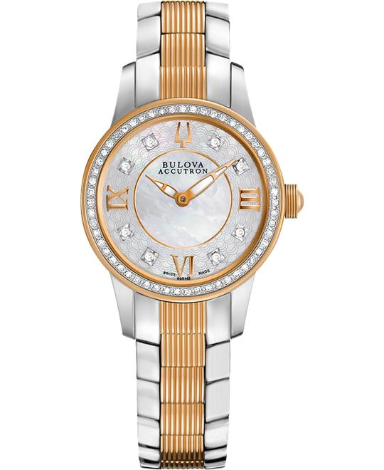 Bulova Accutron Masella Diamond Wacth 28mm