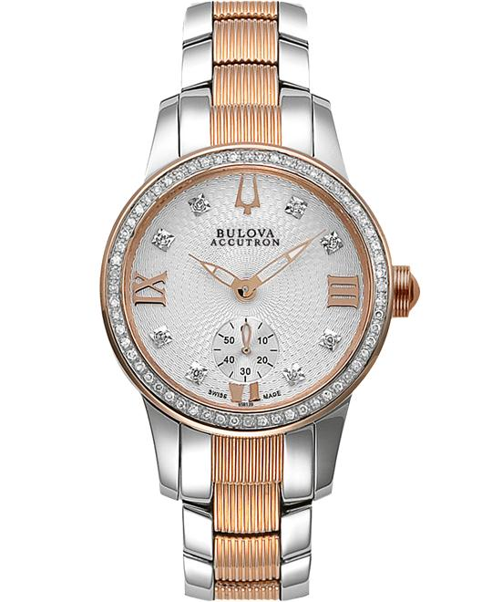 Bulova Accutron Masella Diamond Watch 31mm