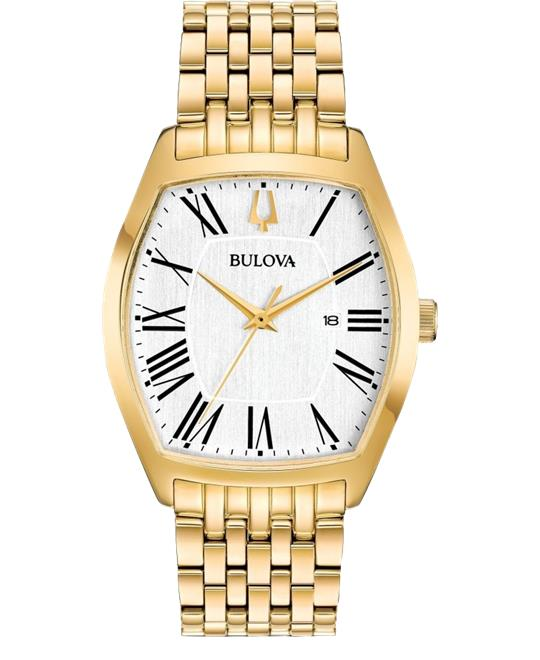 Bulova Ambassador Yellow  Watch 31 x 37mm
