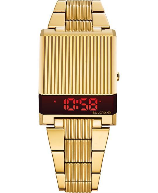 Bulova Archive Series LED Watch 38mm