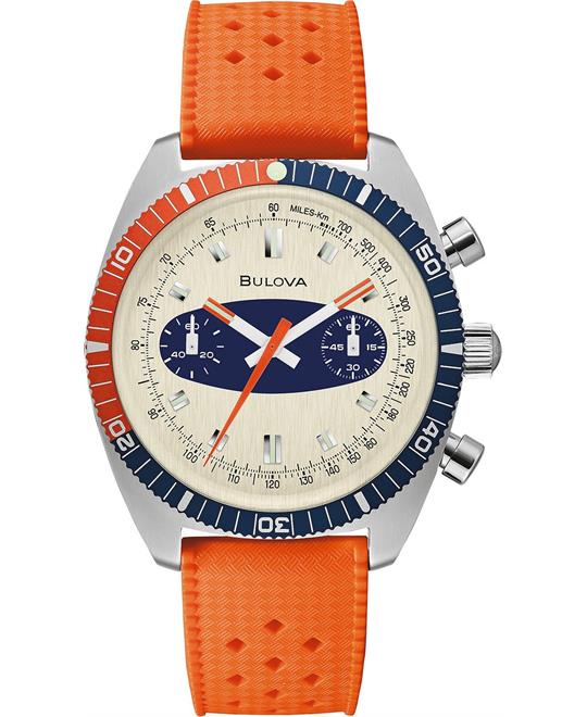 Bulova Archive Surfboard Orange Watch 40.5mm
