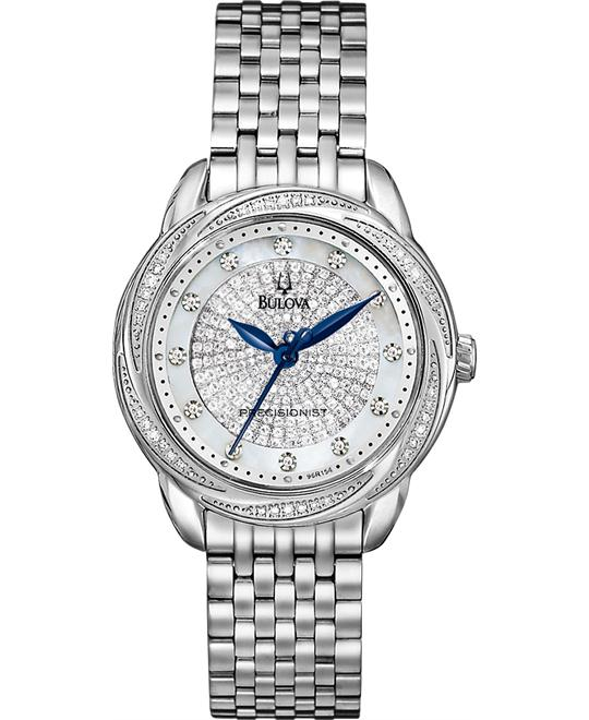 đồng hồ BULOVA Brightwater Precisionist Diamond Watch 31mm
