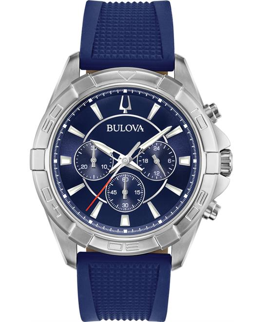 Bulova Chronograph Watch 44mm