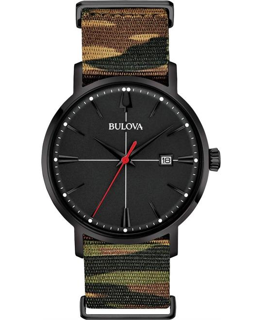 Bulova Classic  Aerojet Black Watch 39mm