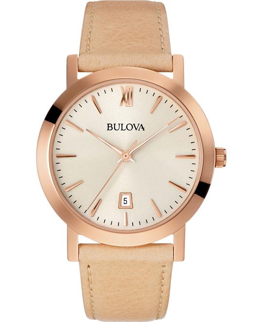 Bulova Classic Analog Unisex Watch 38mm