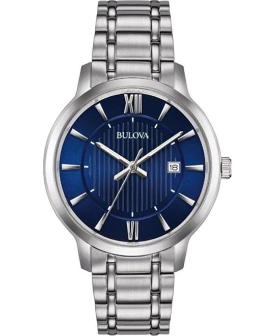 Bulova Classic Blue Men's Watch 40mm