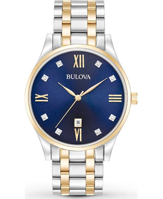 đồng hồ Bulova Classic Men's Two-Tone Watch 40mm
