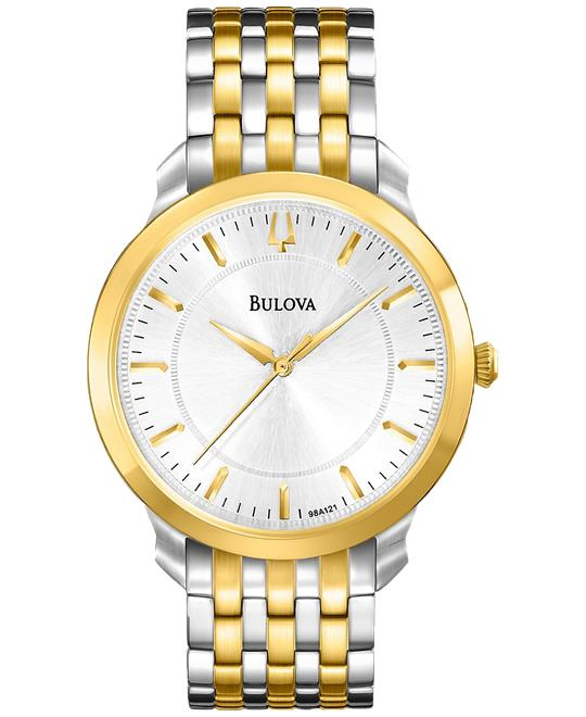 Bulova Classic Two Tone Round Watch 41mm