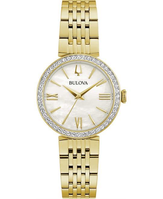 đồng hồ nữ Bulova Crystals Watch 30mm