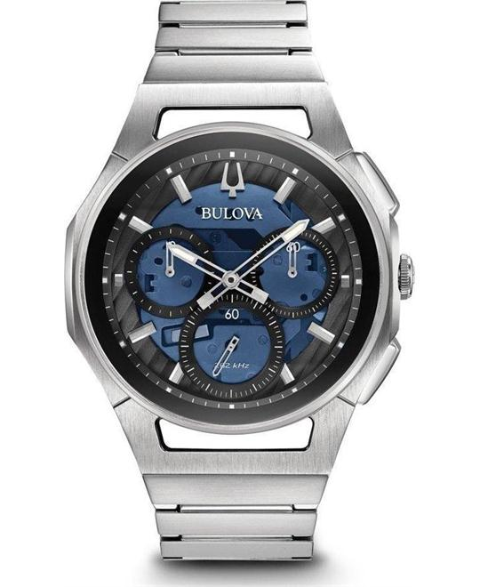 Bulova Curv Chronograph Watch 44mm