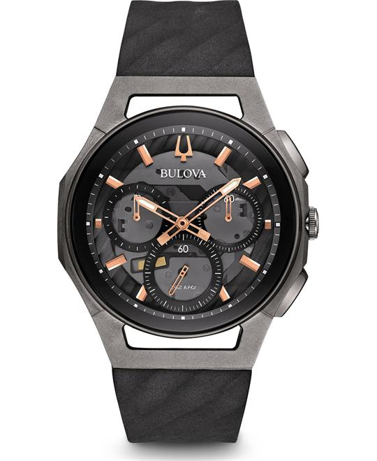 đồng hồ Bulova CURV Chronograph Titanium Watch 44mm