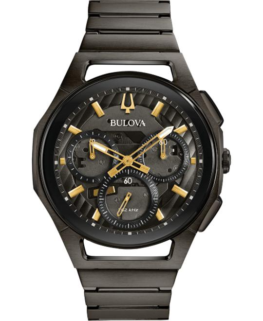 Bulova Curv Dark Grey Watch 44mm