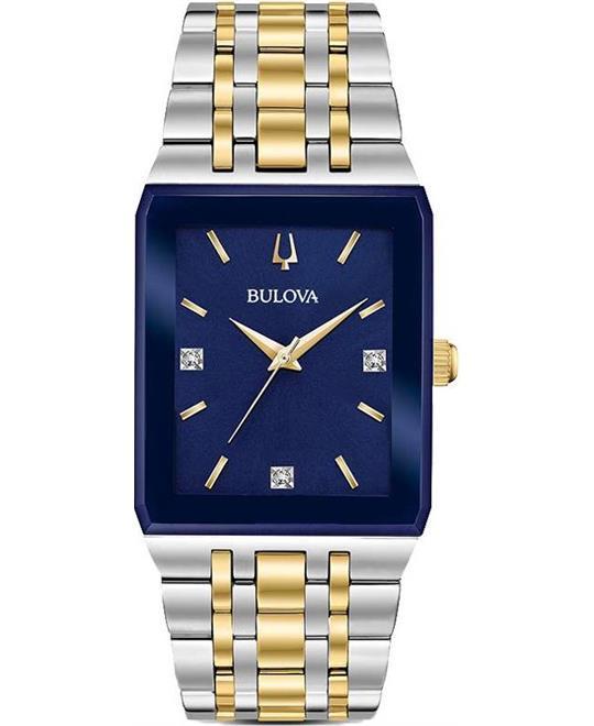 đồng hồ nam Bulova Diamond Accent Watch 30.75mm