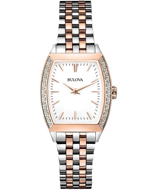 Bulova Diamond Accent Women's Watch 26mm