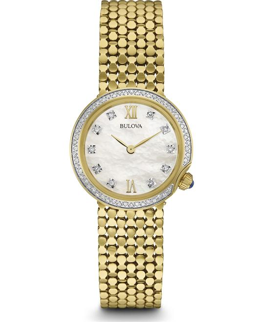 Bulova Diamond Watch 28mm