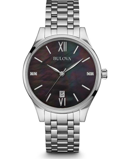Bulova Diamond Watch 36mm