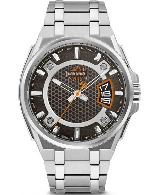 Bulova Harley-Davidson Bar & Shield Dimensional 45mm