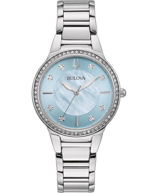 đồng hồ nữ Bulova Ladies' Crystal Watch 32mm