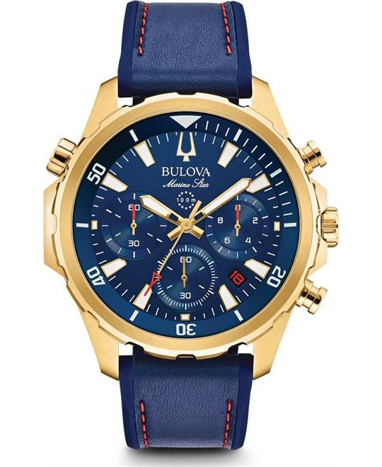 đồng hồ Bulova Marine Star Chronograph Men's Watch 43mm
