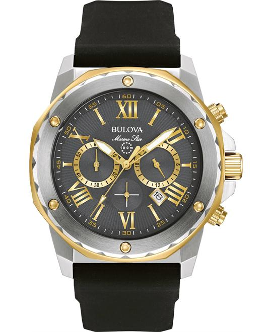 Bulova Marine Star Chronograph Watch 44mm