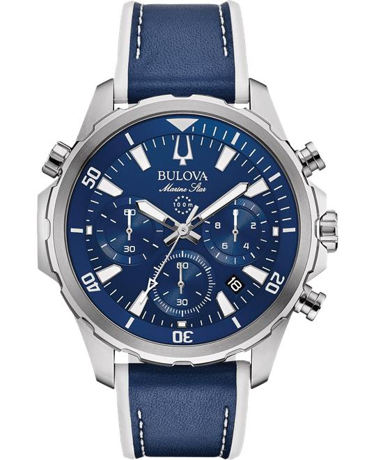 đồng hồ nam Bulova Marine Star Chronograph Watch 43mm