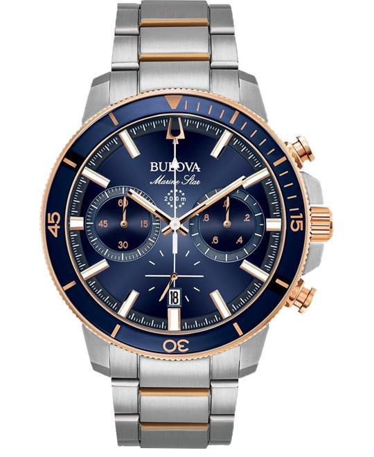 đồng hồ nữ Bulova Marine Star Chronograph Watch 45mm