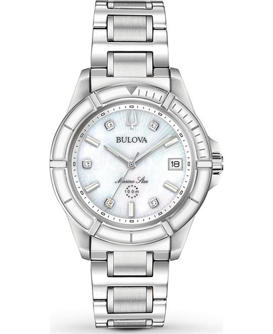 Bulova Marine Star Women's Watch 34mm