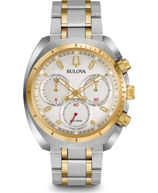 Bulova Curv Chronograph Watch 43mm