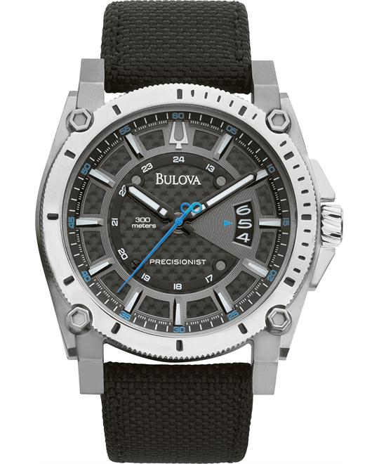Bulova Precisionist Champlain Charcoal Watch 47mm