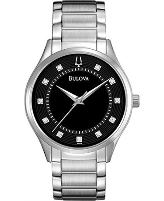 Bulova Mens Dress Bracelet  Watch 40mm