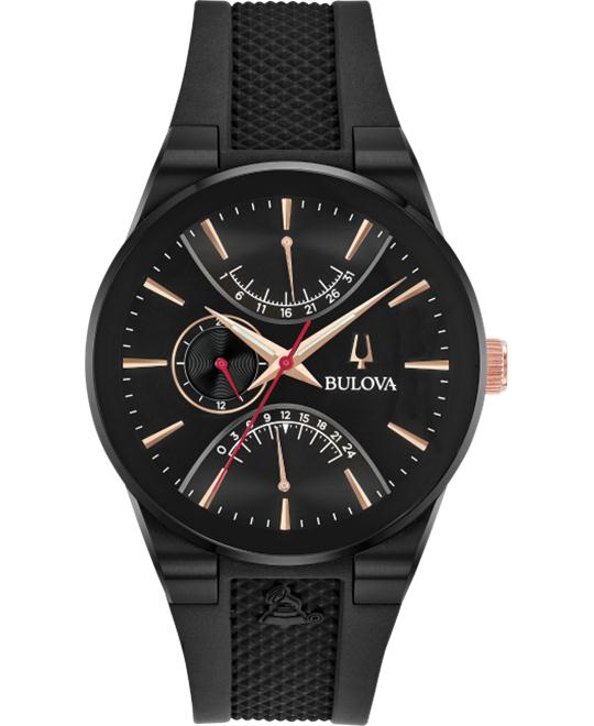 Bulova Modern Black IP Watch 41mm