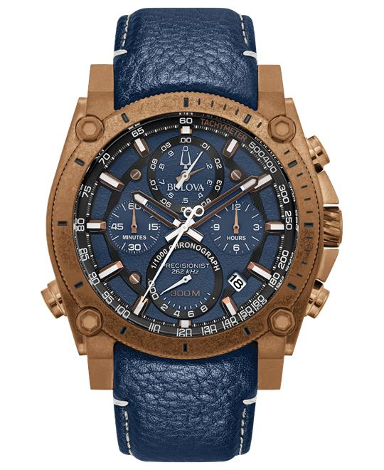 Bulova Precisionist Blue Watch 46.5mm