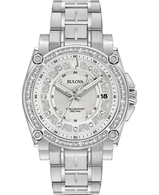 Bulova Precisionist Chrono Watch 40mm