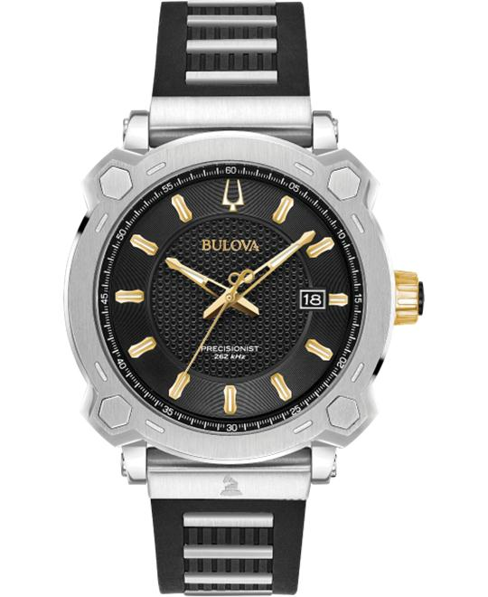 Bulova Precisionist Silicone Watch 41mm