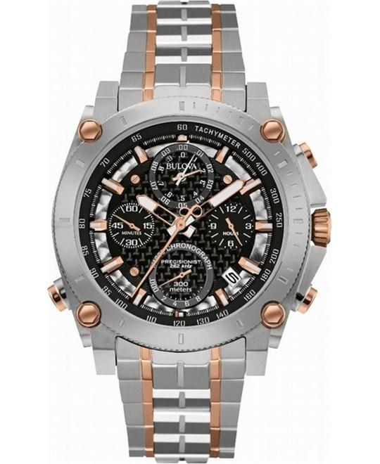 Bulova Precisionist Chronograph Watch 48mm