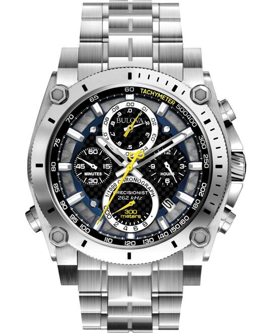 Bulova Precisionist Silver Watch 48mm