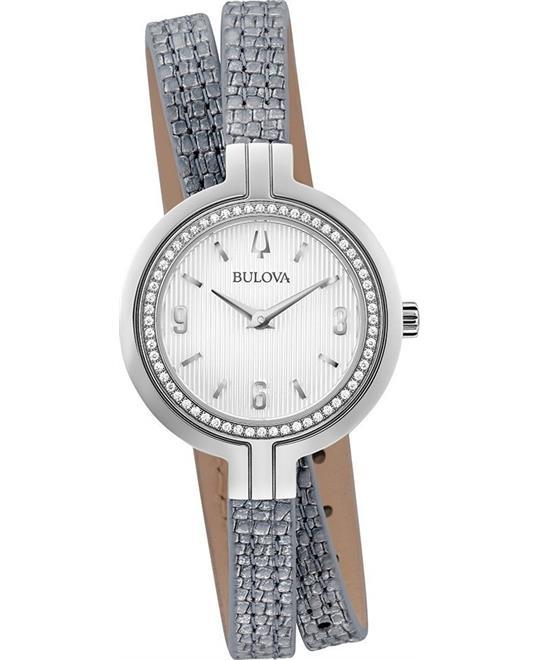 đồng hồ nữ Bulova Rhapsody Diamond Watch 30mm