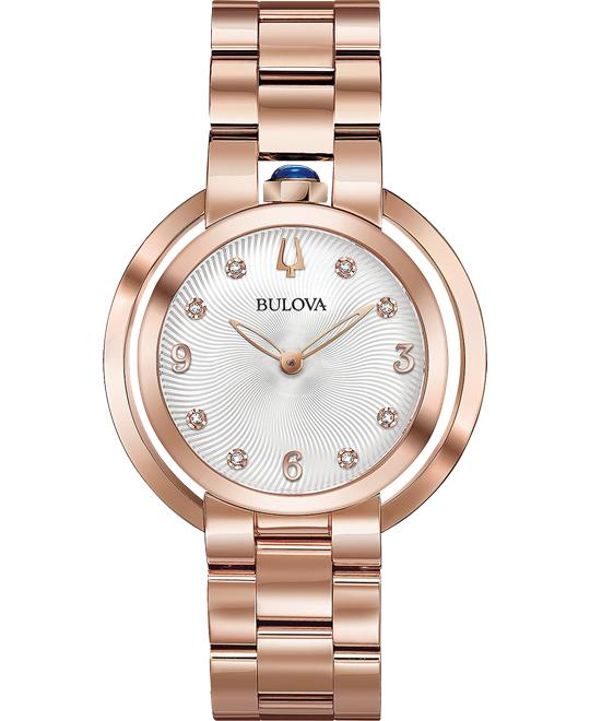 Bulova Rubaiyat Diamond-Accent Watch 35mm