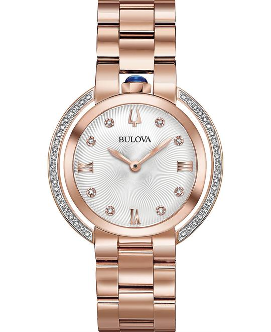 đồng hồ Bulova Rubaiyat Diamond Women's Watch 35mm