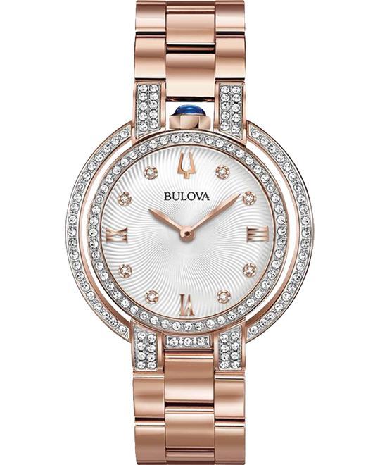 Bulova Rubaiyat Diamonds Watch 35mm