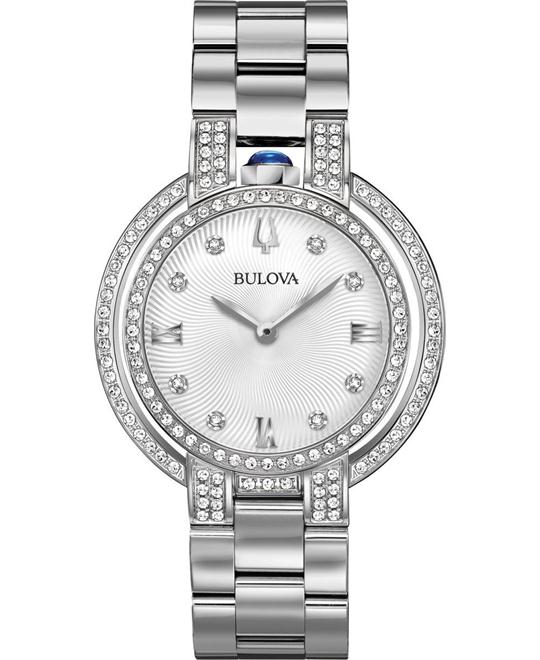 Bulova Rubaiyat Diamond Watch 35mm