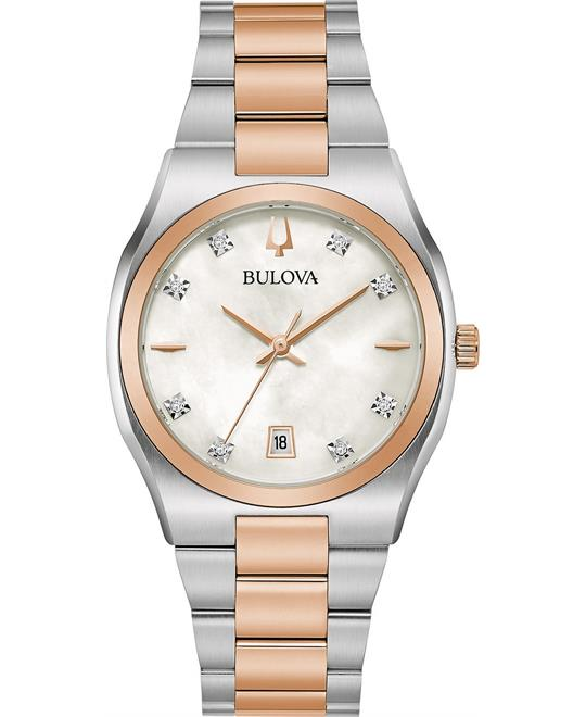 Bulova Surveyor Diamond-Accent Watch 34mm